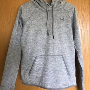 Gray Under Armour hoodie!
